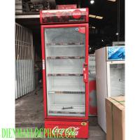 Tủ mát thanh lý Coca 600 lít new 80%