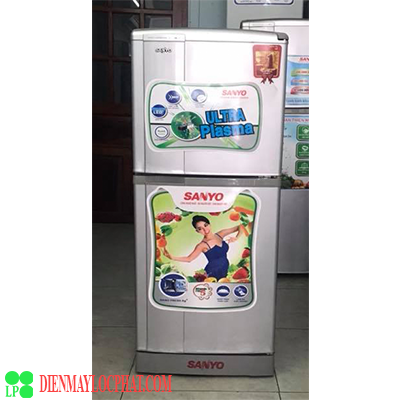tủ lạnh cũ sanyo 130 lít