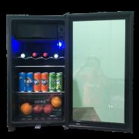 tủ lạnh mát mini 90 lít cửa kính anaka
